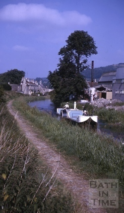 Kennet and Avon Canal, Bathampton 1964