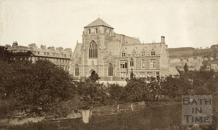St. John's Roman Catholic Church, south Parade, Bath c.1864