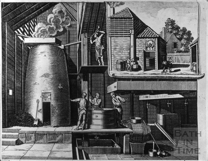 A traditional brewery January 1747