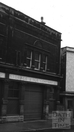 The Cold Storage & Ice Company, 124 & 126, Walcot Street, Bath c.1966