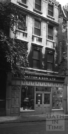 Patton & Son Ltd., 10, Walcot Street, Bath 1966