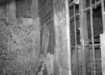 Kiln chamber, Radford Brewery malthouse, Radford 1966