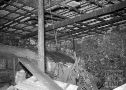 Furnace Chamber, Radford Brewery malthouse, Radford 1966