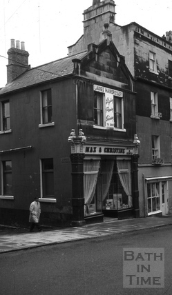 Max & Christine, ladies hairdressers, 146, Walcot Street, Bath c.1966