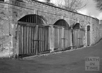 Remains of vaults, South Stoke Brewery, South Stoke 1966