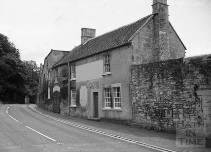 The Fox Inn, Midford from the west 1967