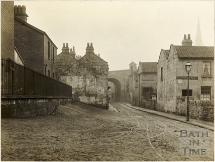 Middle Lane (later Broadway), Dolemeads, Widcombe, Bath c.1906
