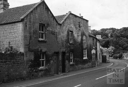 The Fox Inn, Midford from the east 1967