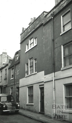 The Bell, 6, Ballance Street, Bath 1966