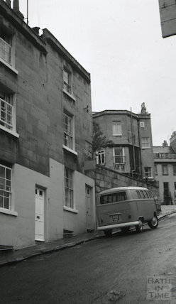 The Belvedere Tavern, 6, Caroline Place, Bath 1966