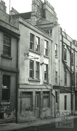 The Bell, 5, Gloucester Street, Bath 1966