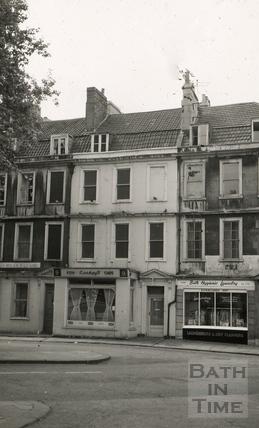 The Black Horse, 9, Kingsmead Square, Bath 1965