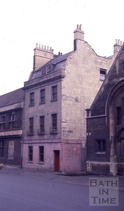 The Bladud's Head, 90, Walcot Street, Bath 1965