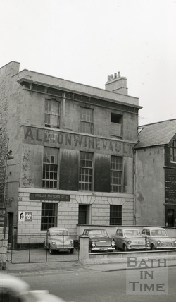 The Albion Brewery Albion House Upper Bristol Road Bath 1965 By 14573 At B