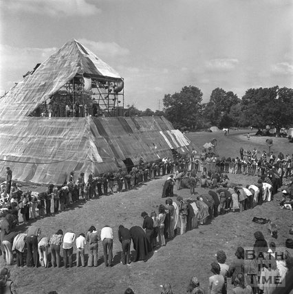 The Glastonbury Free Festival 23 June 1971