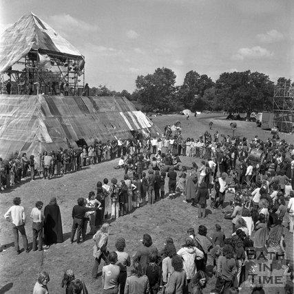 The Glastonbury Free Festival 23 June 1971
