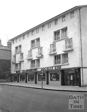 The Walcot Co-operative, London Road, Bath, November 1960