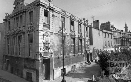 St Paul's Parish Hall and Theatre Royal, Bath, 20 August 1974