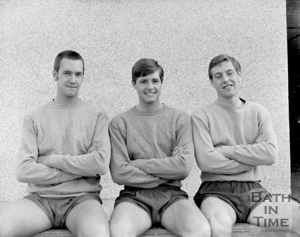 Three goalkeepers for a local football team in the Bath / Bristol region? c.1963
