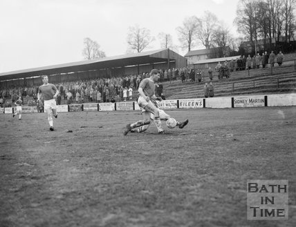Action at Bath City Football Club, c.1962
