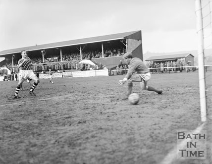 Bath City Football Club vs. Bedford, c.1962