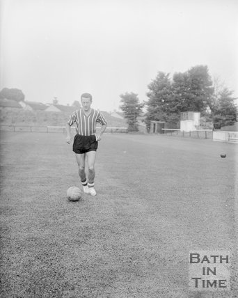 Pat Neil of Bath City Football Club, c.1962