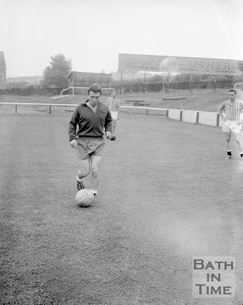 Terry Gough of Bath City Football Club, c.1962