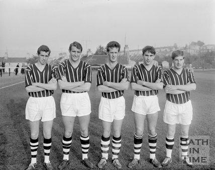 Bath City Football Club team photo, 1963
