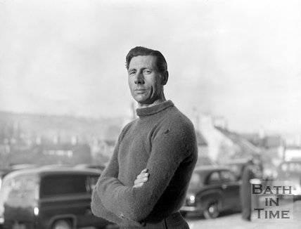 The goalkeeper for Bath City, c.1962