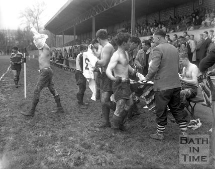 Bath Rugby vs. Exeter 20 April 1963