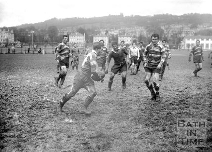 Bath Rugby vs. Exeter 20 April 1963
