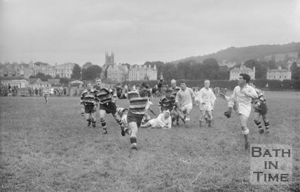 Bath Rugby vs. Bristol 2 March 1962