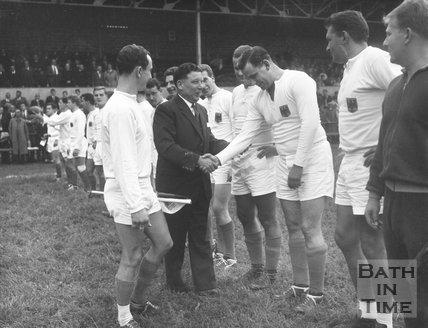 Bath Rugby vs. West Germany XV, 6 September 1963