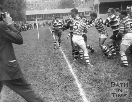 Bath Rugby vs. Bridgend, 7 September 1963