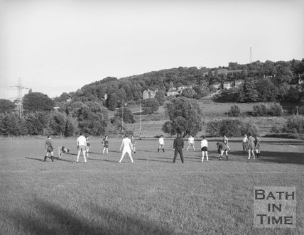 Walcot Rugby Football Club in Training at the Lambridge Training Ground, Bath, c.1963