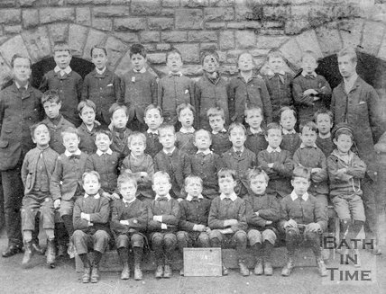School photo possibly of St Marks School, c.1880?
