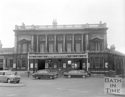 Green Park station, Bath, c.1963
