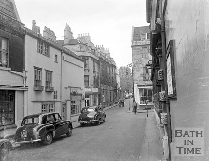 Barton Street, Bath, c.1963