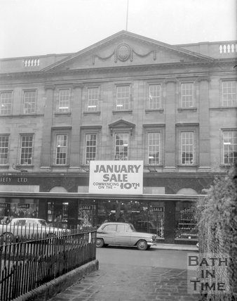 The Cooperative, Westgate Buildings, Bath, c.1963