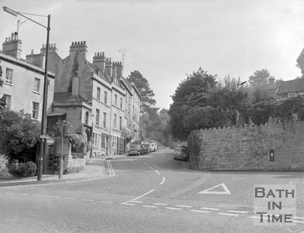 Lyncombe Hill, Bath, c.1963