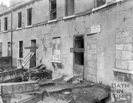 Albert Terrace, Dolemeads,  Bath, c.1965