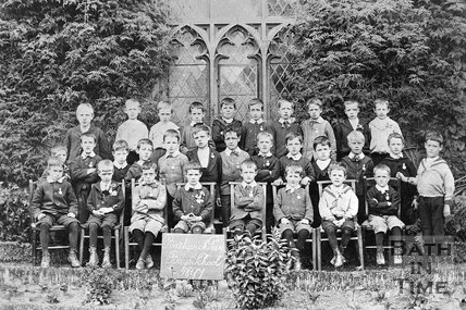 Bathwick Boys School class photo, 1897