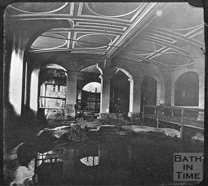 The Circular Bath, Bath, c.1910