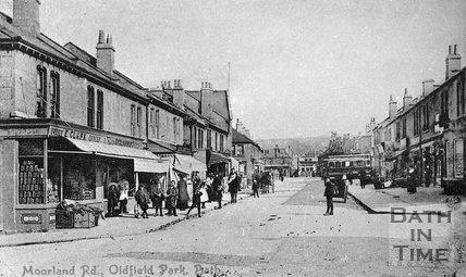 Moorland Road, Oldfield Park, Bath, c.1900