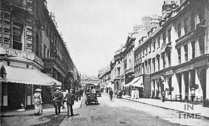 Milsom Street, Bath, c.1900