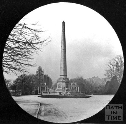 The Obelisk at Royal Victoria Park, Bath, c.1880