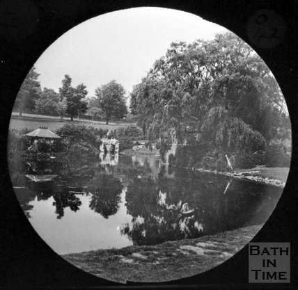 The lake in Royal Victoria Park, c.1880