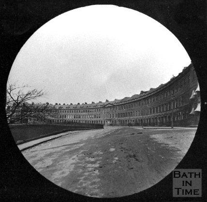Lansdown Crescent, Bath, c.1880