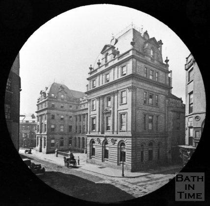 The Grand Pump Room Hotel, Stall Street, Bath, c.1880