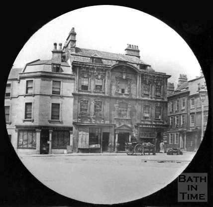 Rosewell House, Kingsmead Square, Bath, c.1880